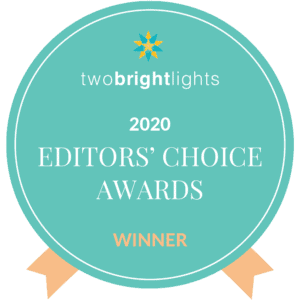 two bright lights awards badge 1000