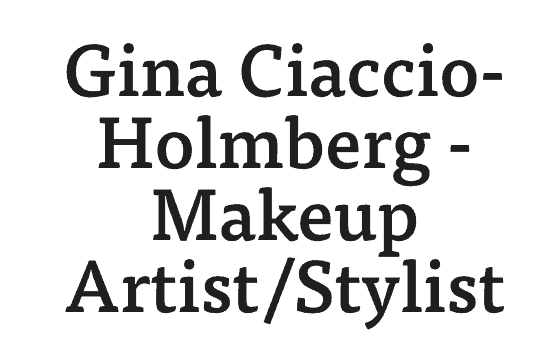 gina ciaccio holmberg makeup artist